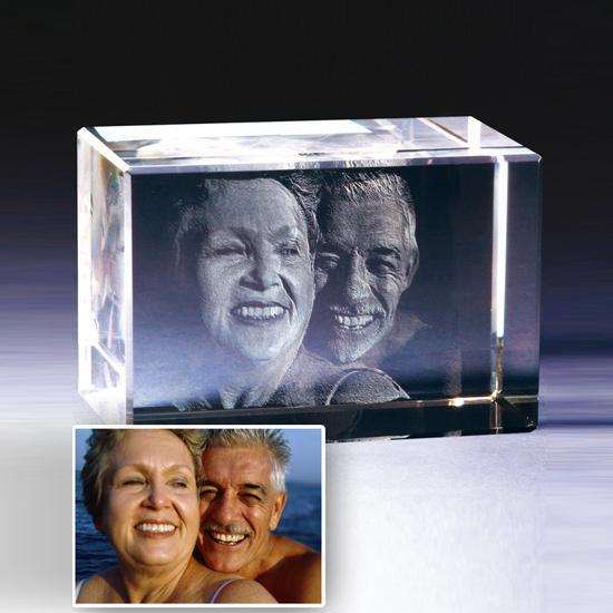 3d glasfoto 3d foto glas 3d glasbild foto kristall - 3d kristall foto ...